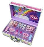 POP Enchanted World Of Beauty Case Kit Maquillage pour Enfant 18 Gloss 2 Vernis 9...
