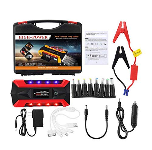 Find Bargain Car Jump Starter -600A Peak Battery Jump Start Pack for 12V (5L Gas Or 3L Diesel) Engin...