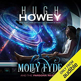 Molly Fyde and the Parsona Rescue audiobook cover art