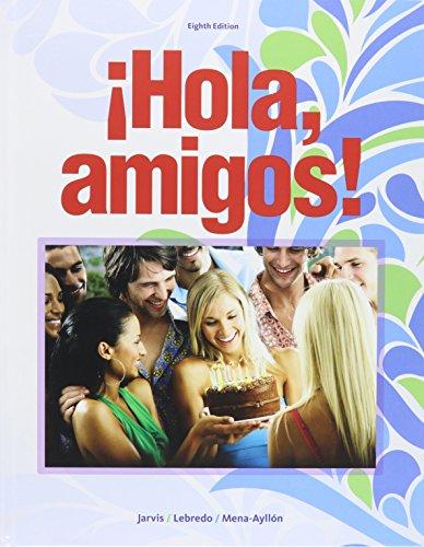 Bundle: Hola, amigos!, 8th + SAM + Premium Web Site, 4 terms (24 months) Access Code