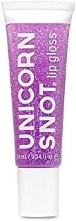 Unicorn Snot Pixie Approved Vegan and Cruelty Free Glitter Lip Gloss in Holographic Purple