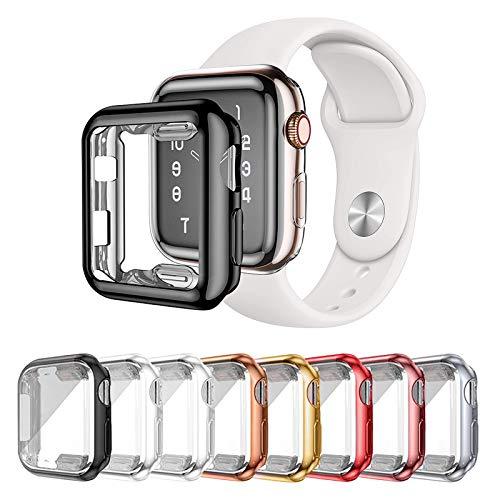 LOBKIN 8 Pack Apple Watch Cases Series 2 Series 3...