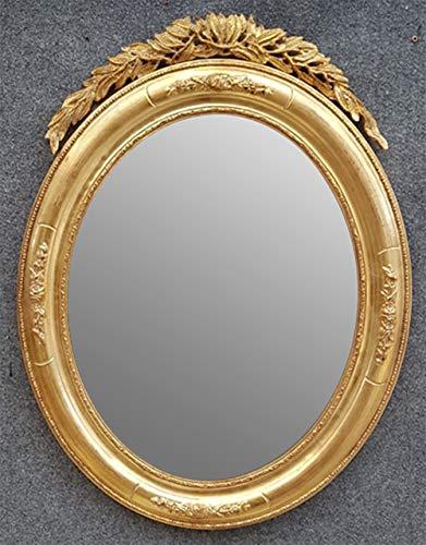 Sellli Wandspiegel mit Goldrahmen und Krage