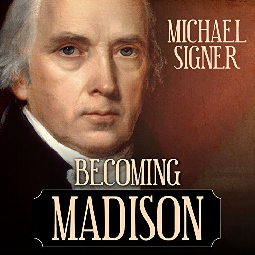 Becoming Madison audiobook cover art