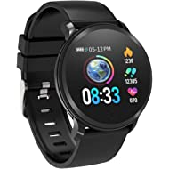 Fitness Tracker, Smart Watch Daily Water-resis Activity Tracker with Heart Rate Monitor, Sleep...