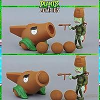 2021真新しい本物の植物対ゾンビおもちゃ射撃おもちゃアクションフィギュアモデルガーデンウォーズ2PVZおもちゃ子供用ギフトPVCセット(箱なし)