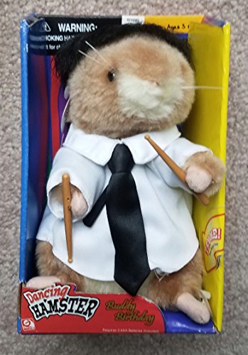 Gemmy Dancing Hamster Buddy Birthday