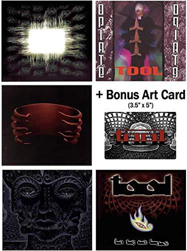 Tool: Complete Studio Album CD Collection with Bonus Art Card