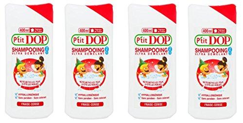 Shampooing Ultra Démêlant 2 en 1 Fraise-Cerise de P'tit Dop