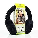 Sharon Pare-Oreilles Music | Bluetooth Noir | Oreillette sans Fil Smart | Compatible avec Apple iPhone X, Samsung Galaxy S8 et Autres