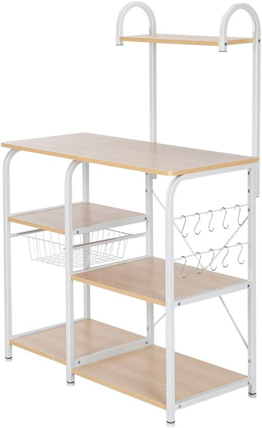 Wholesale SevenPlus BTIF Light Beige Kitchen Rack Storage We OFFer at cheap prices Utility Baker's