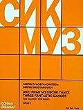 3 PHANTASTISCHE TAENZE OP 5 - arrangiert für Klavier [Noten / Sheetmusic] Komponist: SCHOSTAKOWITSCH DMITRI