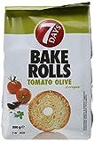 7Days Bake Rolls Tomate Olive und Orega, 8er Pack (8 x 0.25 kg) -
