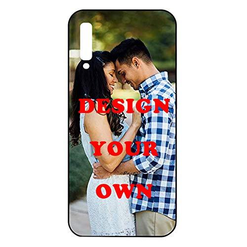 Nsipan Custodia per telefono personalizzata per Samsung Galaxy A30S / Galaxy A50 / A50S, cover protettiva per foto stampate personalizzate con TPU, custodia per telefono personalizzata