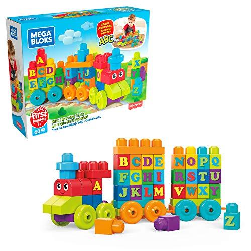 MEGA Bloks Tren de Aprendizaje ABC jueguete