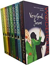 Jeeves and Wooster Series Collection PG Wodehouse 8 Book Set (The Inimitable Jeeves, Very Good, Jeeves, Stiff Upper Lip, Jeeves, Joy in the Morning, Jeeves in the Offing,Aunts Aren't Gentlemen...
