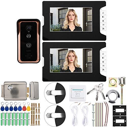 7in 1V2 Monitores Videoportero con Cable(Australian regulations (100-240V))