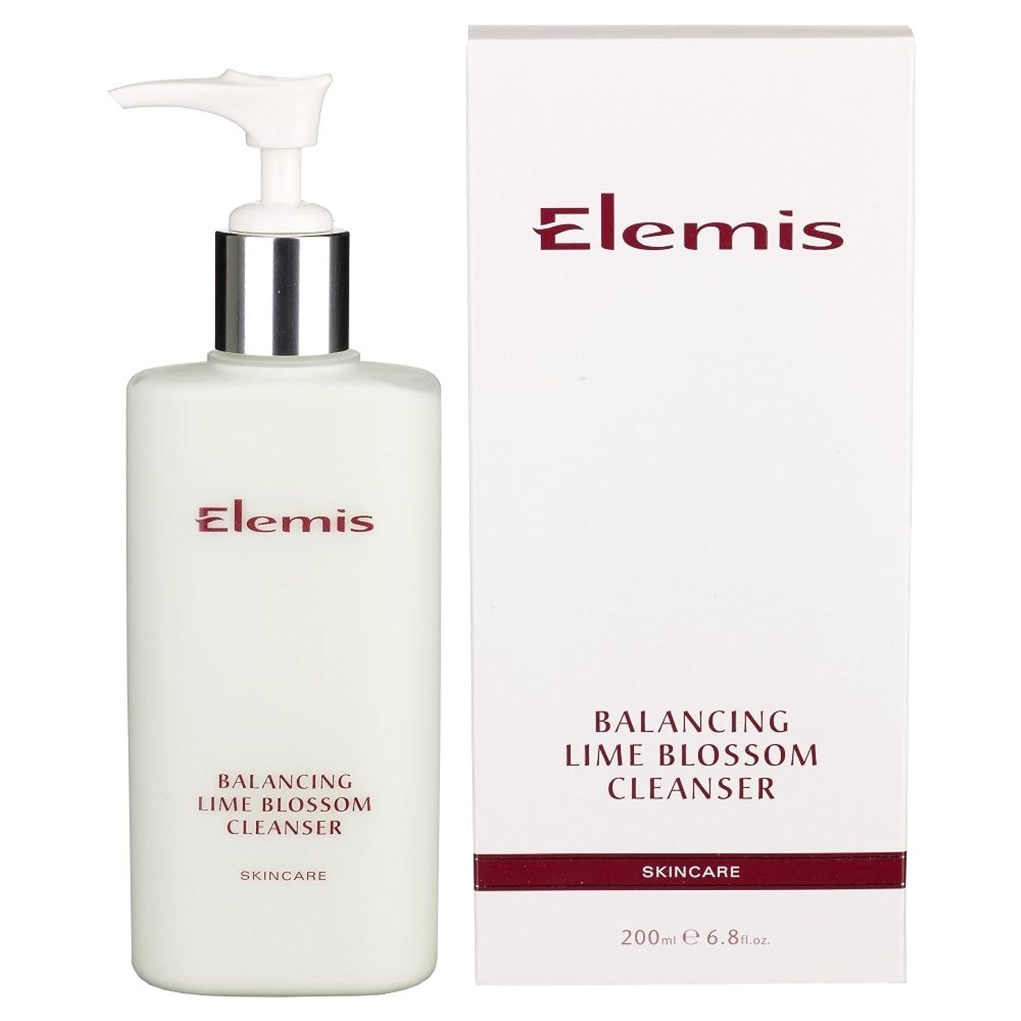 狼穏やかな前者ライムブロッサムクレンザーのバランスをとります (Elemis) (x2) - Balancing Lime Blossom Cleanser (Pack of 2) [並行輸入品]