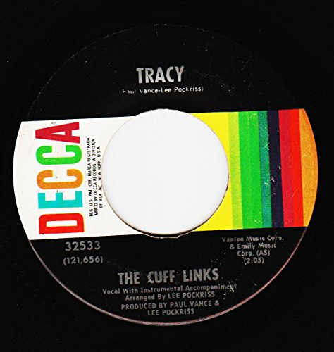 CUFF LINKS, THE/Tracy/45rpm record