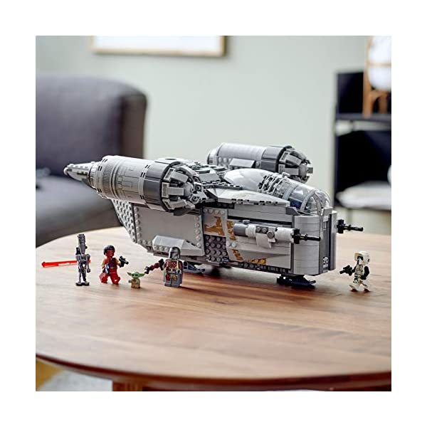 LEGO Star Wars: The Mandalorian The Razor Crest 75292 Exclusive Building Kit, New 2020 (1,023 Pieces) 3