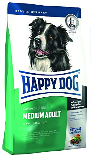 Happy Dog Hundefutter 60007 Adult Medium 12,5 kg