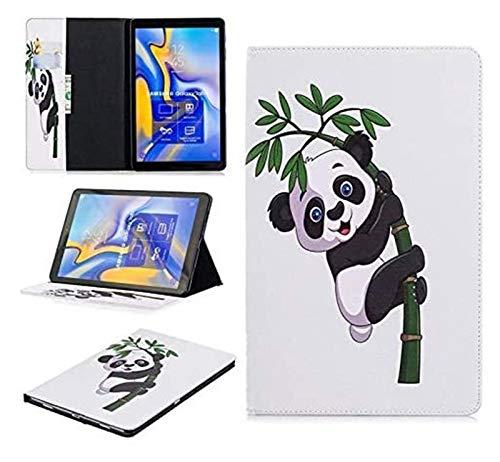 LCM Accesorios de pestañas para Samsung Galaxy Tab a A2 10.5, Funda de Cuero PU de Oso de Flip Owl para Samsung Galaxy Tab a A2 10.5 (Color : 06)
