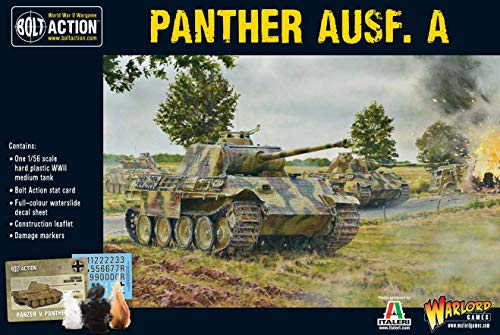 Panther Ausf A, Bolt Action Wargaming Model