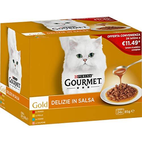 Gourmet Gold Multipack Delizie en salsa, 24 x 85 g