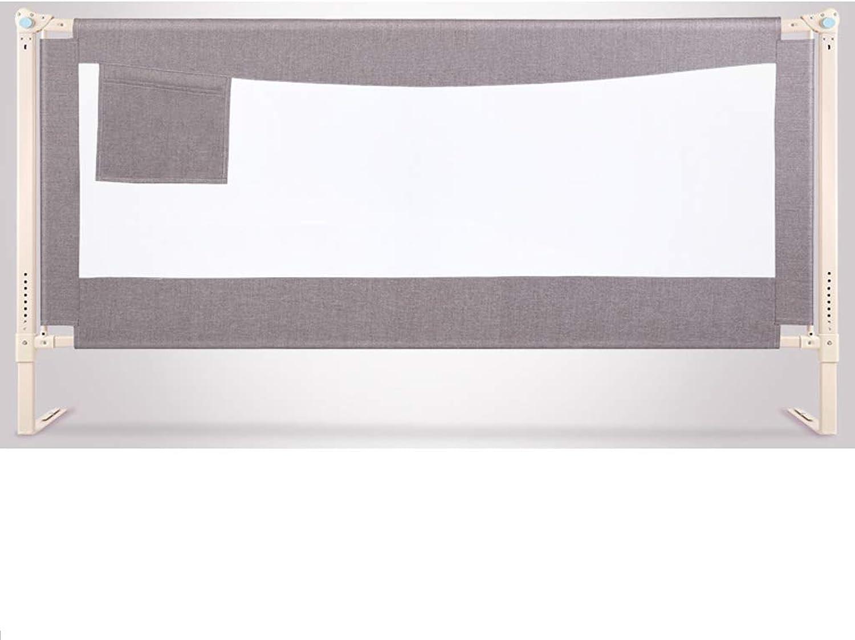 suministro directo de los fabricantes JSSFQK Elevación Elevación Elevación verdeical Cerca de la Cama de los Niños Valla Resistente a los Golpes del bebé barandilla deflectora para Niños 1,8-2 m Universal Valla Projoectora (Tamaño   2m×2m)  100% garantía genuina de contador