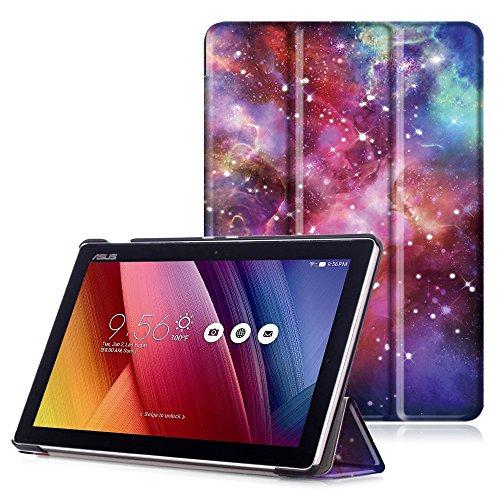 """custodia tablet asus ASUS ZenPad 10 Cover - Custodia Ultra Sottile con Coperture da Supporto e Funzione Auto Sveglia / Sonno per ASUS ZenPad 10 Z301M / Z301ML / Z301MF / Z301MFL / Z300M / Z300C 10.1"""" Tablet"""
