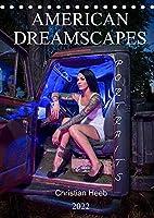 """American Dreamscapes Portraits (Tischkalender 2022 DIN A5 hoch): Christian Heeb fotografiert die Menschen Amerikas am Rande der Stadt in anregenden """"Americana"""" Motiven wie aus einem Tarantino Film. (Monatskalender, 14 Seiten )"""