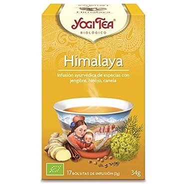 Yogi Tea Infusión de Hierbas Himalaya - 17 bolsitas, paquete de 3