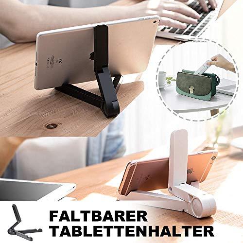 GMXY Faltbarer Tablet-Halter - Rheinwing (Weiss)