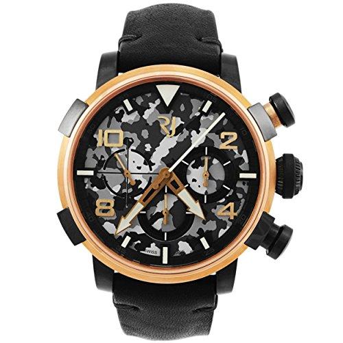 Romain Jerome Pinup DNA rosso oro Wwii Gina fan cronografo automatico uomo...