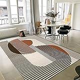Alfombra moderna de lujo con diseño minimalista moderno y...