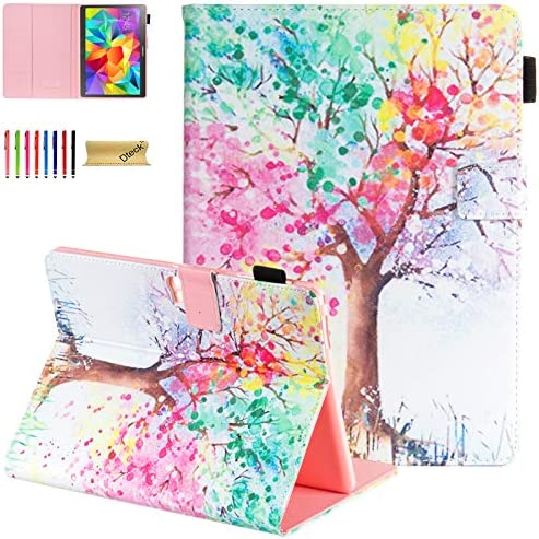 Galaxy Tab S 10 5 Case SM T800 Case Dteck Slim Colorful Flip Stand Premium PU Leather Wallet product image