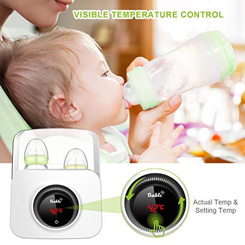 Bable Flaschenwärmer丨Sterilisator für Babyflaschen丨Babykostwärmer丨Multifunktionale Baby Flaschenwärmer mit Ernährungsschutz-Technologie and LCD Bildschirm - 7