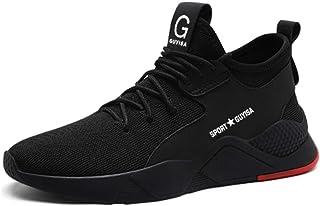 JIANYE Chaussure de Sécurité Homme Legere s3 Respirant Chaussures de Travail Femme Chantier Baskets Chantiers et Industrie
