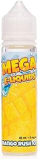 MEGA ELiquids Verdict Vapors 電子タバコリキッド Mango Rush Ice ニコチンフリー 60ml