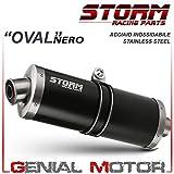 GPR Italia H.73.DE Escape homologado con tubo de conexi/ón para CBR 600/RR 2003//04/PC37A