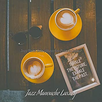 Jazz Violin Solo (Music for French Cafes)