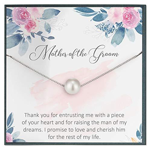 Collar de regalo para la madre del novio de la novia, regalo de boda para futura madre en derecho, regalo de novia a madre en derecho, idea de regalo para novio y mamá