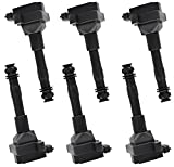 ENA Pack of 6 Ignition Coils Compatible with 2001-2010 Porsche Boxster Cayman...