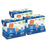 Good Karma Non Dairy Flaxmilk (Vanilla - 6.75 oz, Pack of 18) Lactose Free Milk Lunchbox Carton, Plant Based Vegan Milk Alternative