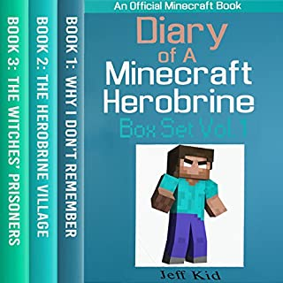 Diary of a Minecraft Herobrine Vol.1 (An Unofficial Minecraft Book) audiobook cover art
