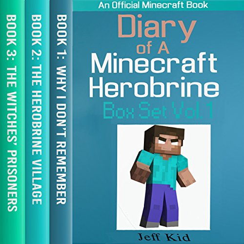 Diary of a Minecraft Herobrine Vol.1 (An Unofficial Minecraft Book) cover art