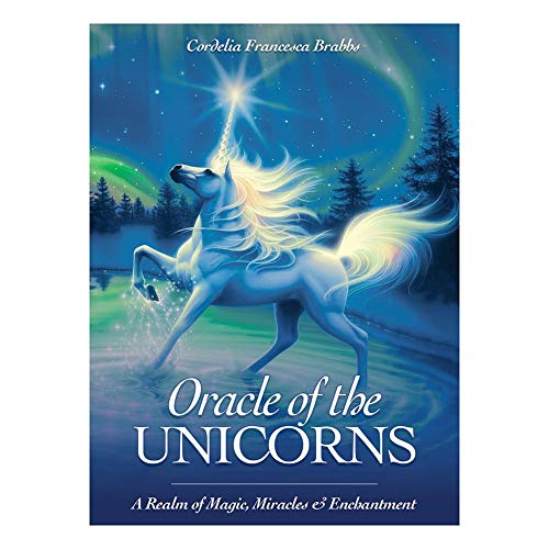 Oráculo de los unicornios: un reino de magia, milagros y encantamientos, 44 cartas Oráculo de los unicornios: entra en un reino encantado de magia y milagros