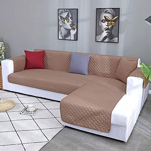 Funda de sillón,Jacquard poliéster Funda de Sofá,Funda impermeable para sofá tipo L, alfombrilla para perros y niños, sillón, protector de muebles, reposabrazos lavables, fundas para sofá, fundas