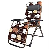 Atten Tragbare Square Foot Chair Stühle Folding Kann Reclining Stool40mm Winter Outdoor Erholung Sofa mit Baumwollabdeckung Sitzen