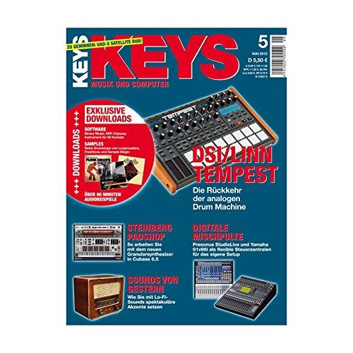 Keys 5 2012 - DSI / LINN Tempest - Binary Music ARP Odyssey Software zum Download - Personal Samples - Free Loops - Audiobeispiele